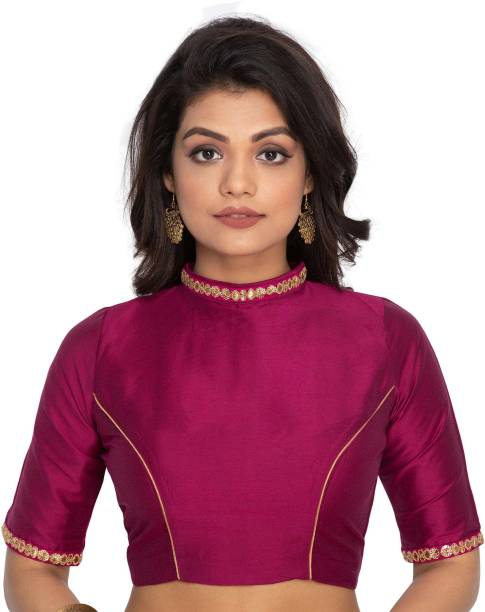 1914e25b834da4 Raw Silk Blouses - Buy Raw Silk Blouses Online at Best Prices In ...