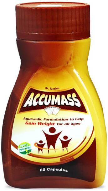 Accumass Weight Gain Capsules 60Caps.