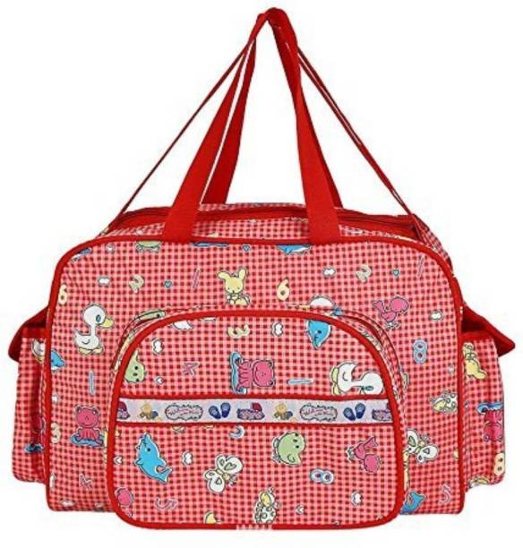 962bfa4d3e5275 Guru Kripa Baby Products New Born Baby Multypurpose Mother Bag With Holder  Diapper Changing Multi Comprtment