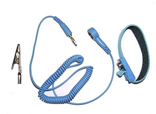 GLOBAL STATCLEAN SYSTEMS ANTISTATIC WRIST BAND & ESD Discharge Grounding Tool Cord Anti-Static Wrist Strap