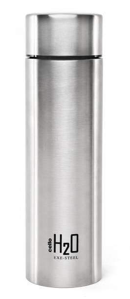 Cello H2O STEEL SILVER 1000 ml Bottle