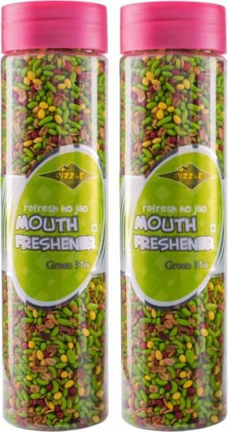 DIZZLE Green Mix Mint Mouth Freshener