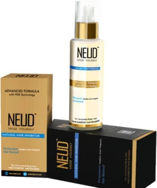 NEUD Natural Hair Inhibitor ( 1 Pack) Cream (80 g) Cream