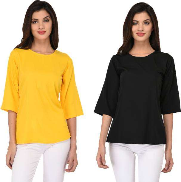 74a23951715 Georgette Tops - Buy Georgette Tops Online at Best Prices In India ...