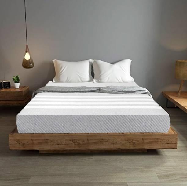 Sleep Spa Ebon 3-Zone Bamboo Charcoal 8 inch King Memory Foam Mattress
