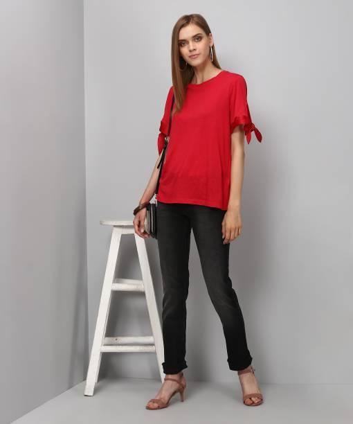Flying Machine Skinny Women's Black Jeans