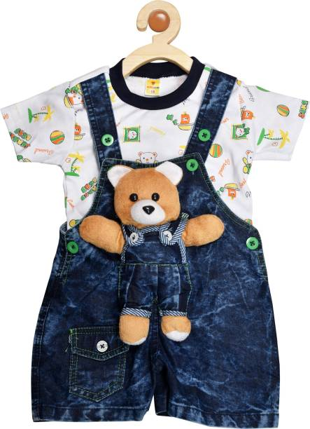 4e35c55b4e3d Baby Jumpsuits - Buy Baby Boys Dungarees   Jumpsuits Online At Best ...