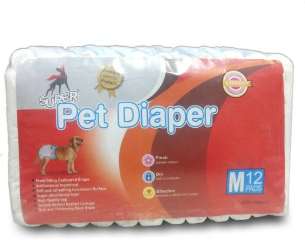 Super Dog 3048 Disposable Dog Diapers