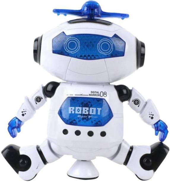 Crazy Toys White Robot