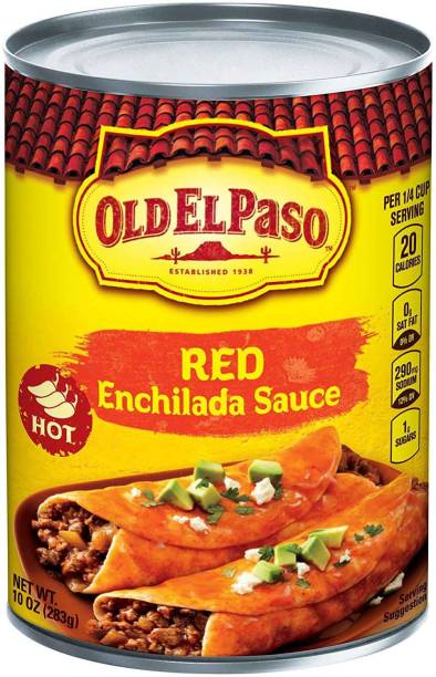 Old ELPaso Red Enchilada Sauce, Hot - 283g (10oz) Sauce