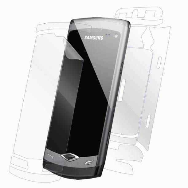 Snooky Front and Back Tempered Glass for samsung wave 2