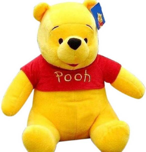 TRAGBARE Soft toy pooh Soft For Boys And Girls - 58 cm (Multicolor)  - 58 cm
