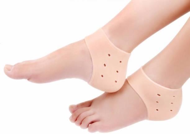 half off 8c6b3 1f5e9 CARECROFT Anti heel crack set socks pain foot gel relief anti silicone  moisturizing support crack dry