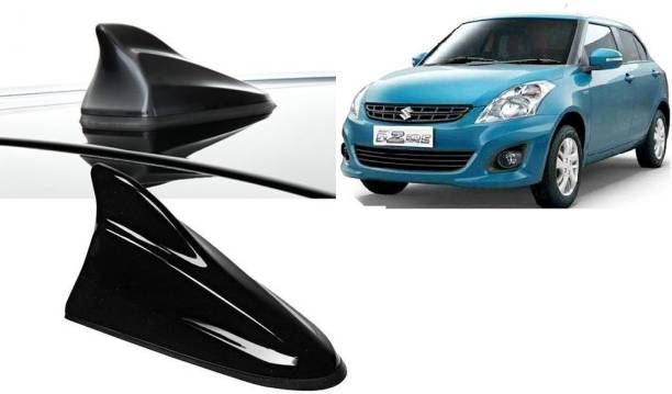 Auto Pearl SF2T90 - Premium Quality Black Shark Fin Replacement Signal Receiver (AM/FM) Antenna Black Shark Fin Replacement Signal Receiver (AM/FM) Antenna For - Swift Dzire Type-2 Hidden Vehicle Antenna