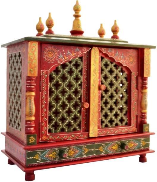 Marusthalee Mandir Mandap Solid Wood Home Temple