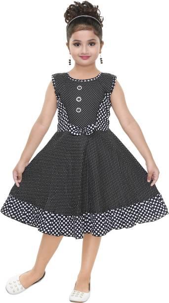 3a800f52e56e N BAHUBALI Girls Midi Knee Length Casual Dress