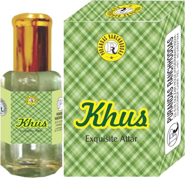Purandas Ranchhoddas PRS Khus Attar Eau de Parfum  -  6 ml