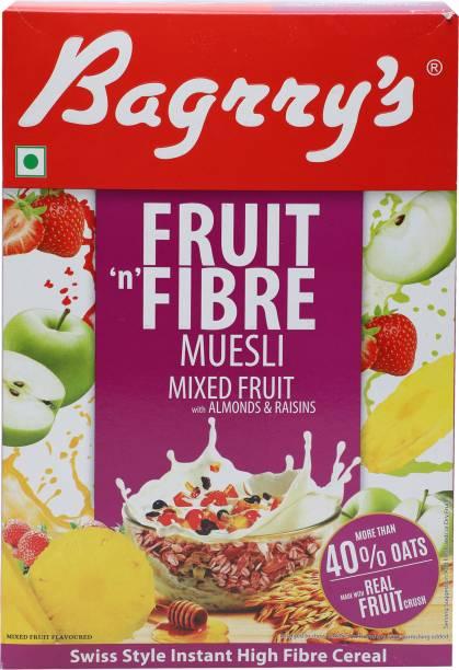 Bagrry's Fruit 'n' Fibre Muesli Almonds & Raisins