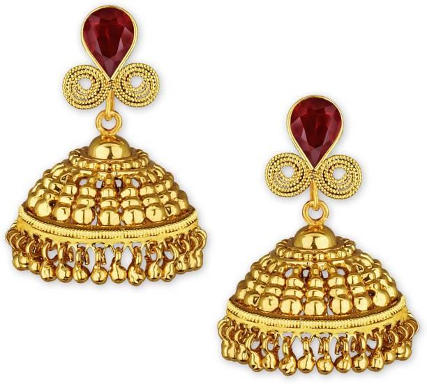 36065910f Ruby Earrings - Buy Ruby Earrings online at Best Prices in India ...