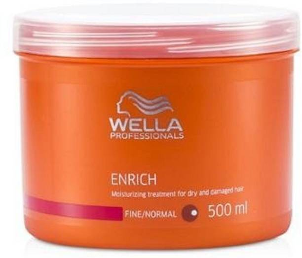 Wella Professionals 'Wella' Enrich Moisturizing Treatment for Dry and Damaged Hair (Normal/Thick), 500ml