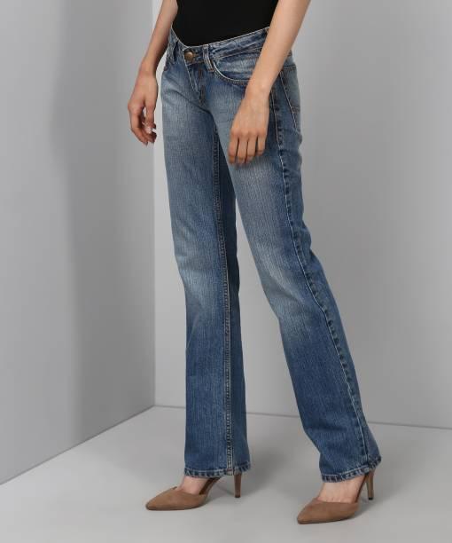 Flying Machine Regular Women's Light Blue Jeans