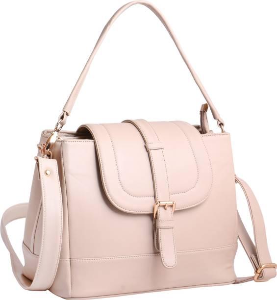Women Marks Women Casual Beige PU Sling Bag