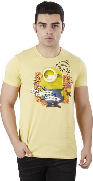 44d8d9f5 Minions Tshirts - Buy Minions Tshirts Online at Best Prices In India ...