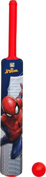 MARVEL Spider-Man Big Size Bat & Ball Cricket Kit