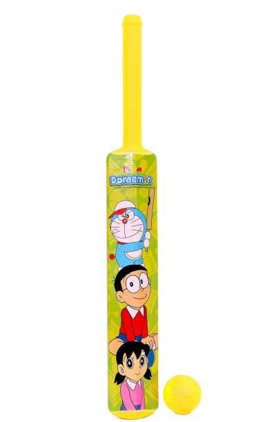 Doraemon Big Size Bat & Ball Cricket Kit