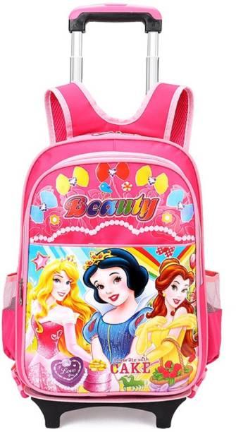 64f2e37c5867 GOCART Kids Trolley Backpack 2 wheels Girl s Trolley School bags Removable  Travel luggage Rolling Bag School