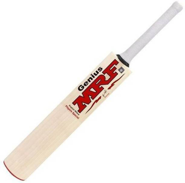 MRF Genius Grand Edition Double Blade Mixed Poplar Willow Cricket  Bat