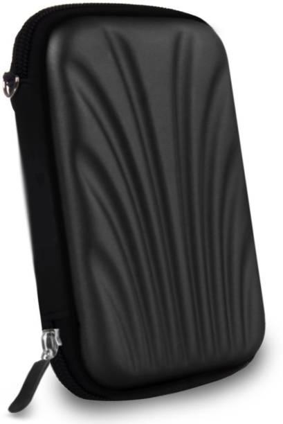 AlexVyan Bumper Case for Seagate Backup Plus Slim 1TB 2TB External Hard Disk Drive Casing Case Cover Enclosure Bag Sleeve