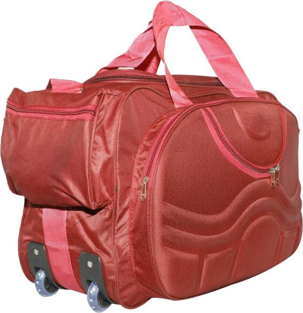 65e5b4bb62e5 Pink Duffel Bags - Buy Pink Duffel Bags Online at Best Prices In ...