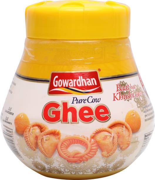 Gowardhan Pure Cow Ghee 1 L Plastic Bottle