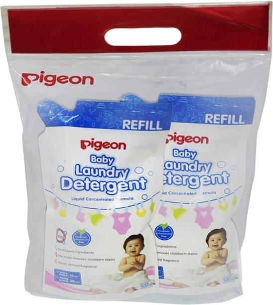 Pigeon BABY LAUNDRY DETERGENT LIQUID, REFILL COMBO Liquid Detergent