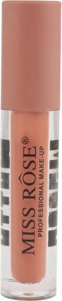MISS ROSE Moisturizer Smooth Lip Gloss Matte Lipstick Makeup Lipgloss Sexy Colors Liquid Lipstick Nude Peach