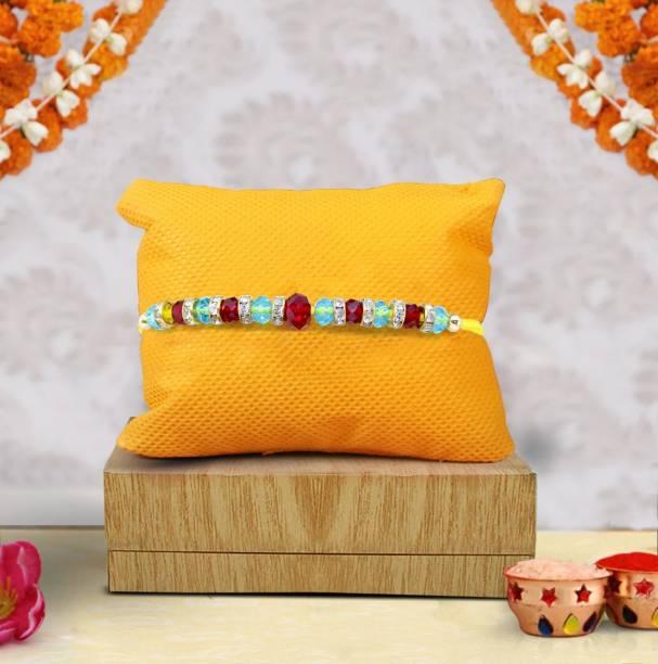 TIED RIBBONS Chawal Roli Pack, Rakhi  Set