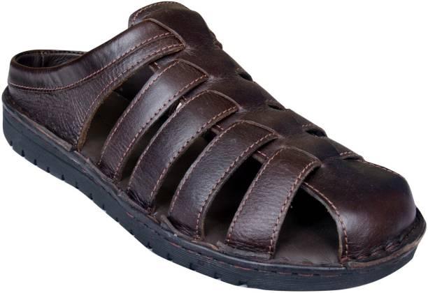 Mardi Gras Men D Brown Sandals
