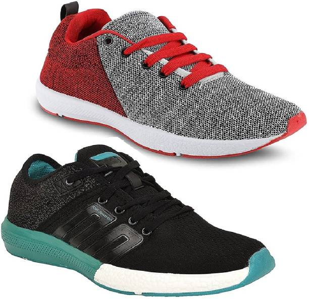 Genial Combo Pack Of 2Sports Shoes Running Shoes For Men