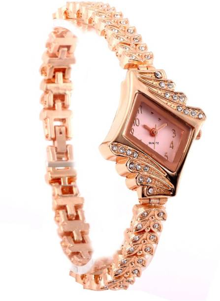 7dd705d7f COSMIC glass dial bracelet quartz watch alloy rose gold stainless steel  chain Luxury Brand Gifts for