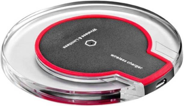 Quality Deal Qi Standard Ultra-Slim UFO Shape Crystal Clear Wireless Charging Pad