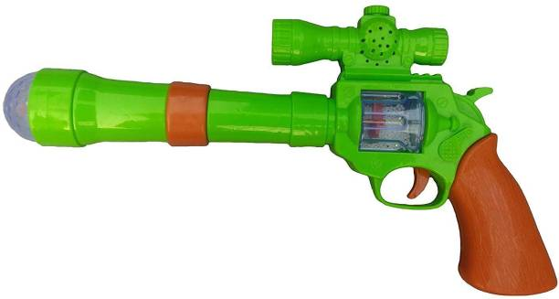 Instabuyz Projection Music Strik Electric Gun Toy