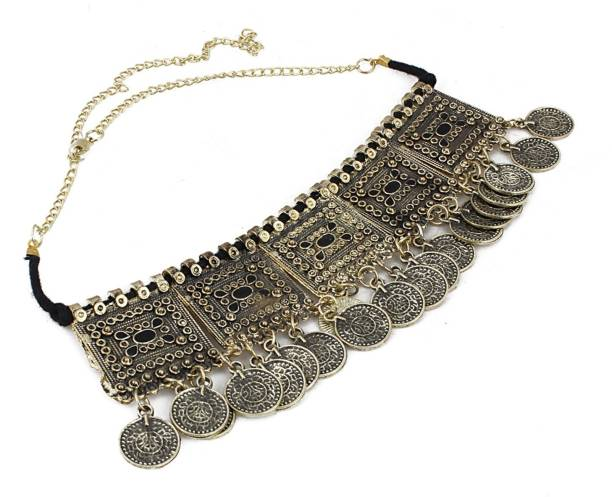 e880480ab Gold Choker Necklaces - Buy Gold Choker Necklaces online at Best ...