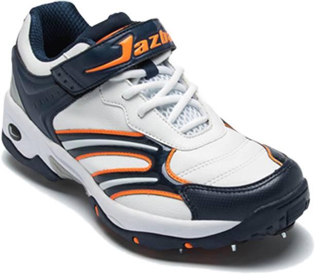 c08c9418040 Jazba Orange Color Cricket Shoes For Men Cricket Shoes For Men