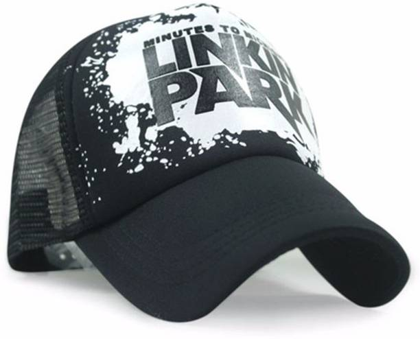 969974362d7 Friendskart Printed Linkin Park Printed In Black Colour Half Net Cap