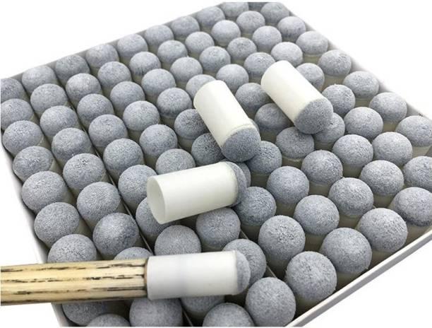 Laxmi Ganesh Billiard 11892 SNOOKER SLIP ON TIP 9MM ( PACK OF 100 PIECE ) Snooker, Pool, Billiards Cue Stick