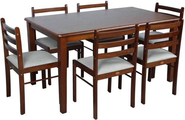 Parin Engineered Wood 6 Seater Dining Set