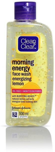 Clean & Clear Clean & Clear_Lemon Morning Energy_ Face Wash