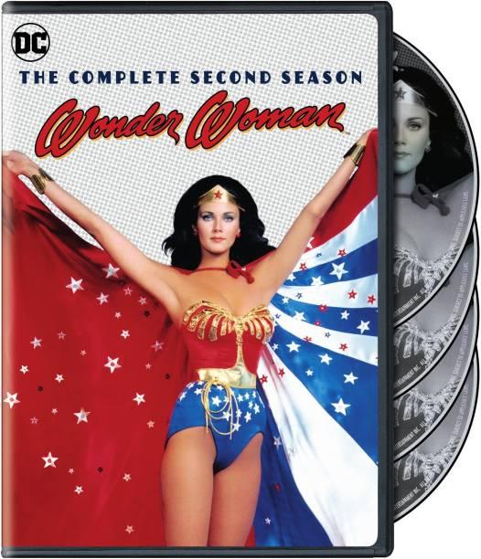 Wonder Woman: The Complete Season 2 (4-Disc Box Set) (Fully Packaged Import) (Region 2 & Region 5)