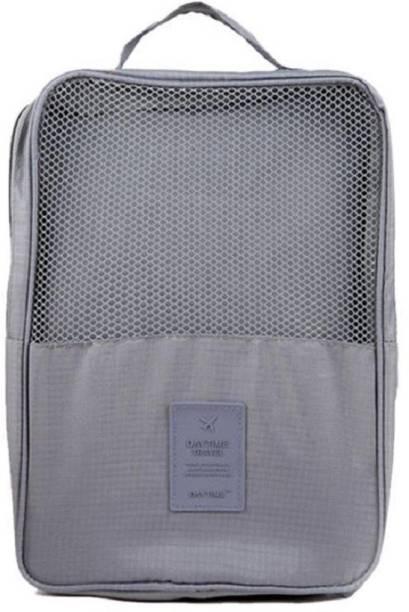 Italish 2 Layer Waterproof Travelling Shoe Footwear Storage Bag Organiser Pouch Travel Toiletry Kit